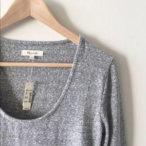 Madewell grey bodysuit